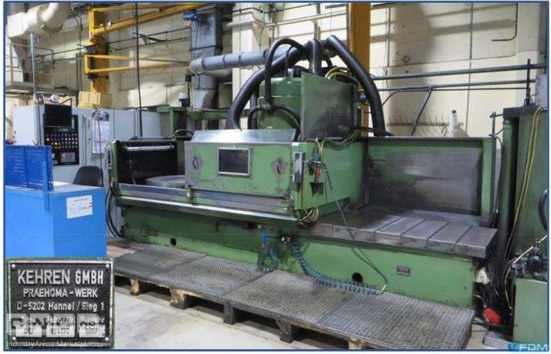 Double Table Rotary Surface Grinder-vert KEHREN D12-CNC