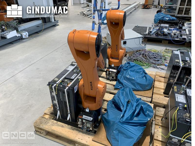 KUKA KR10 R1100 with KR C4 COMPACT Controller