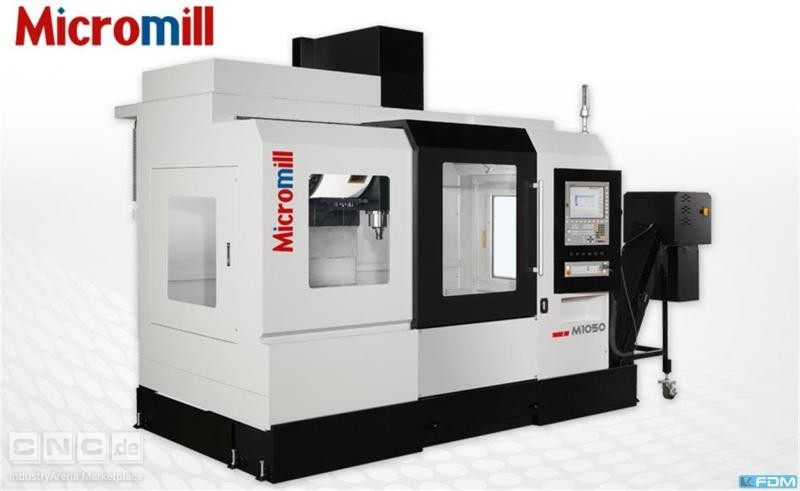 milling machining centers - vertical MICROMILL M 1050
