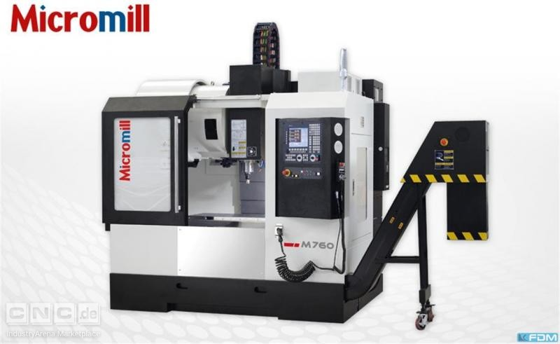 milling machining centers - vertical MICROMILL M 760