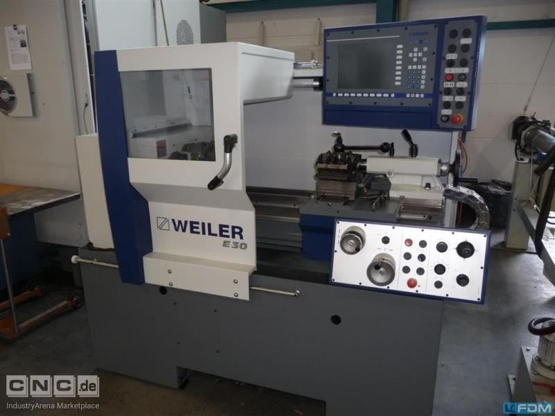Lathe - cycle controled WEILER E 30
