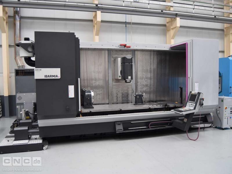 5 Axis CNC Ibarmia ZVH 58 L3000 Extreme Machining Center