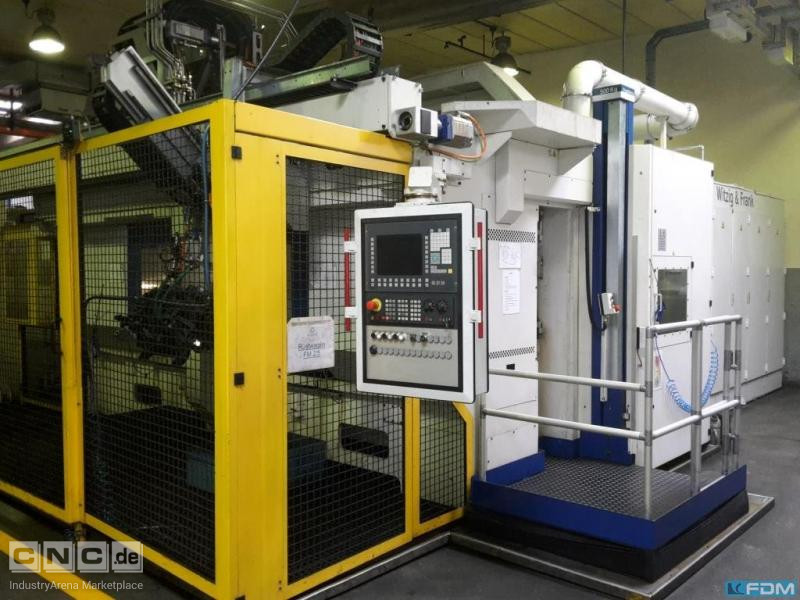 Flexible Manufacturing System WITZIG & FRANK Twinflex MD