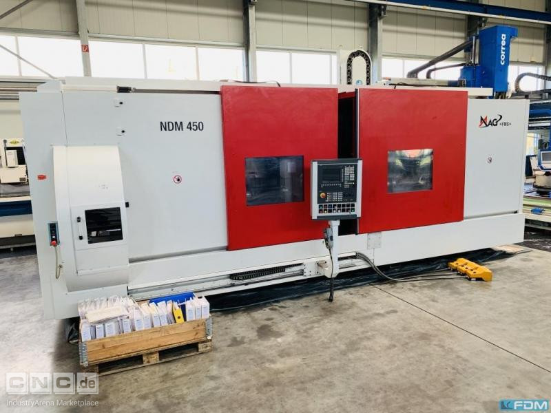 CNC Turning- and Milling Center MAG FMS Drehtechnik Schaffhausen AG NDM 450-4-300