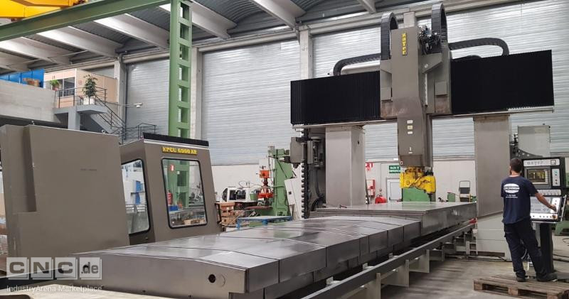 ZAYER KPCU 6000 AR DT gantry milling machine