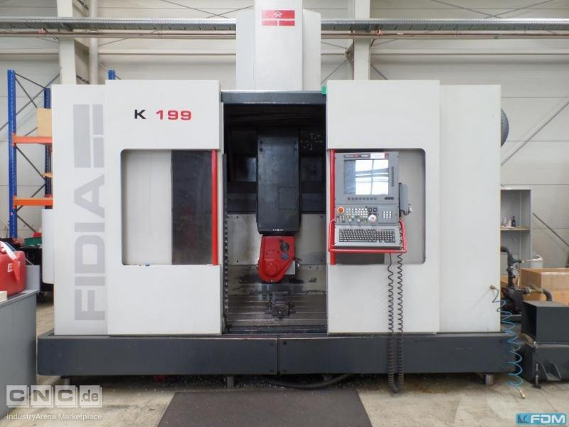 High-speed milling machine FIDIA K 199