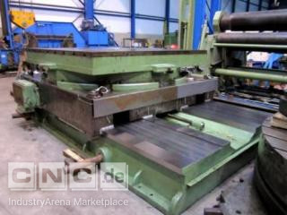 CNC Rotarytable ASQUIT, 2750x2750 mm, 80 ton