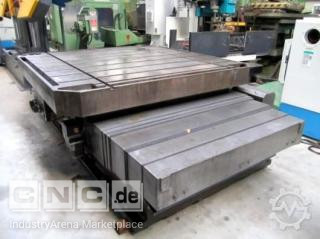 CNC Rotarytable TOS, SK 16 ton, 2200x2200 mm