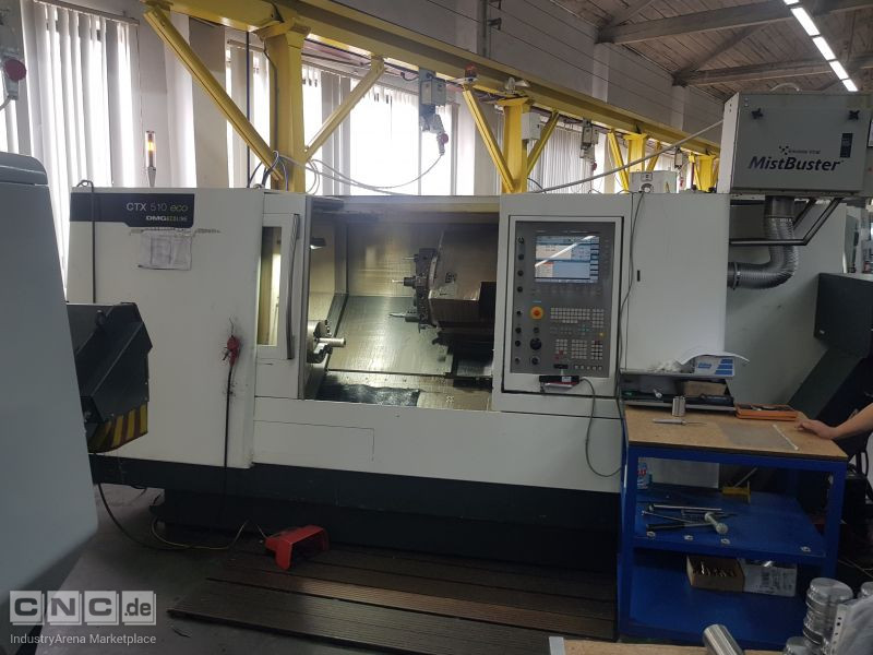 DMG CTX 510 eco CNC Vertical Machining Center
