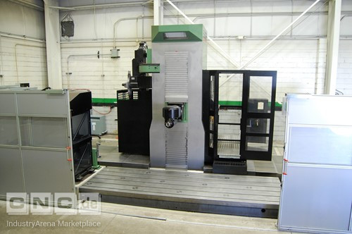 OMV Parpas Electra Five-Axis High Dynamic CNC Milling Machine