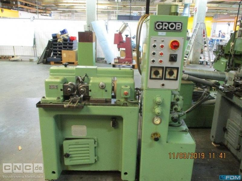 Thread Rolling Machine GROB RM 28 A
