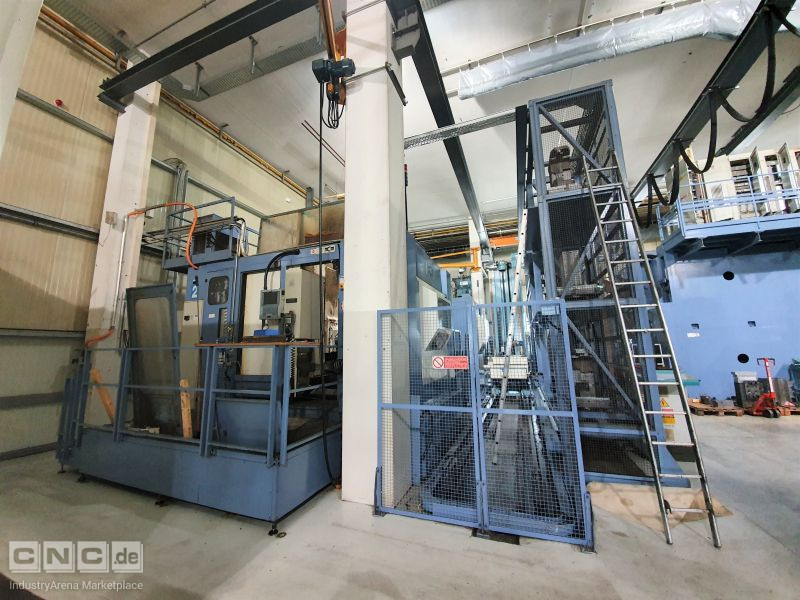 MCM Jet Five Mirror 5 axis Machining Center