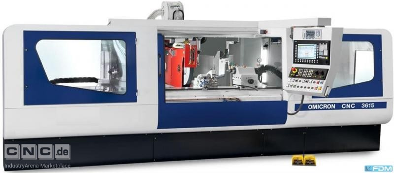 Cylindrical Grinding Machine KRAFT Omicron 3606 CNC