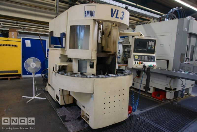 EMAG VL 3 CNC-Vertical Turning Machine
