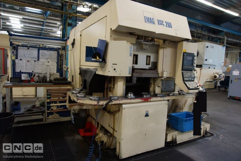 EMAG VSC 200 CNC-Vertical Turning Machine