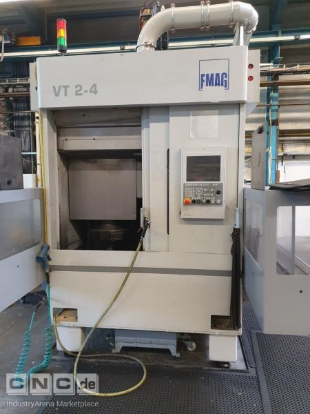 EMAG VT 2-4 CNC-1 Spindle Shaft Turning Machine