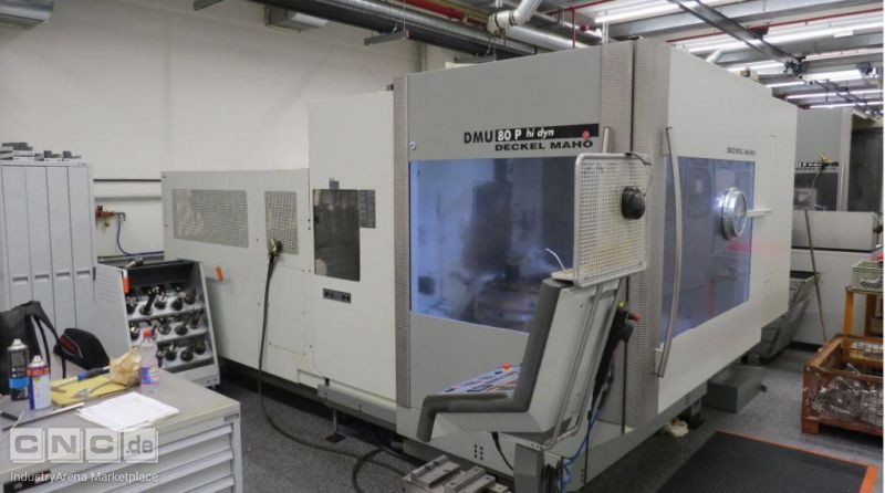DECKEL MAHO DMU 80 P hi-dyn 5-axis machining center