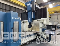Bridge and Gantry Nicolás Correa FP40/40 Double Column Milling Machine