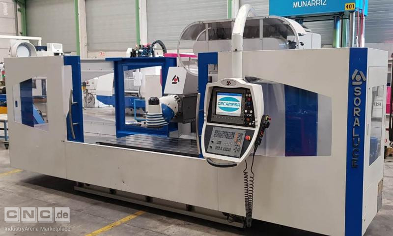 SORALUCE TA-A20 bed type milling machine