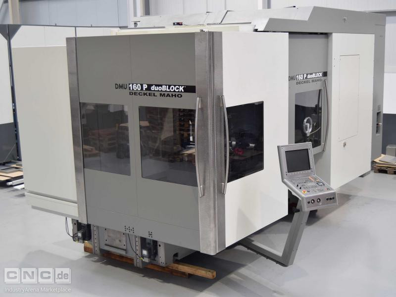 DMG DMU 160-P Duoblock 5 Axis Machining Center