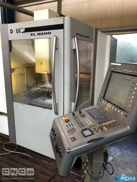 Machining Center - Universal DECKEL DMU 50 (3+2)