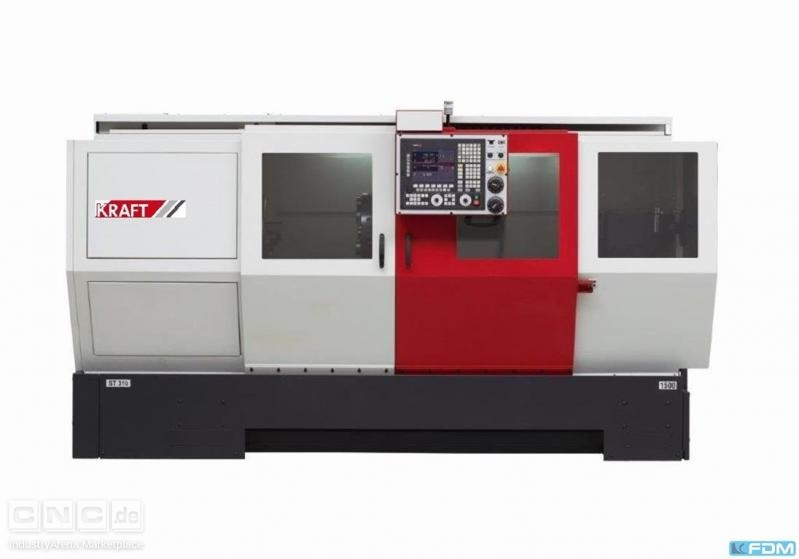 CNC Turning- and Milling Center KRAFT KT 570/2000 (mit C-Achse)