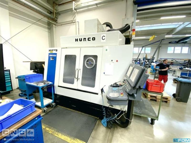 Machining Center - Universal HURCO VMX 42U