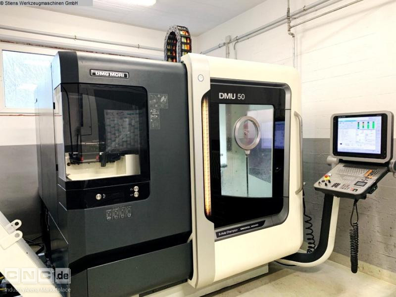DMG MORI DMU 50 New Design