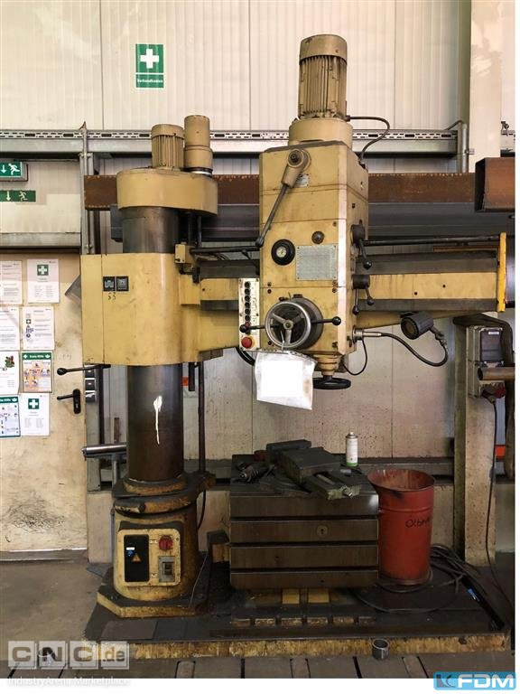 Radial Drilling Machine WMW BR 40/2