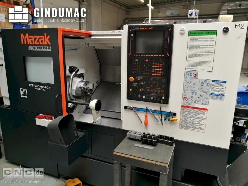 Mazak Quick Turn Compact 300MY L