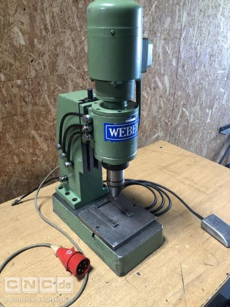 Orbital Riveting Machine Weber NAE 75-2