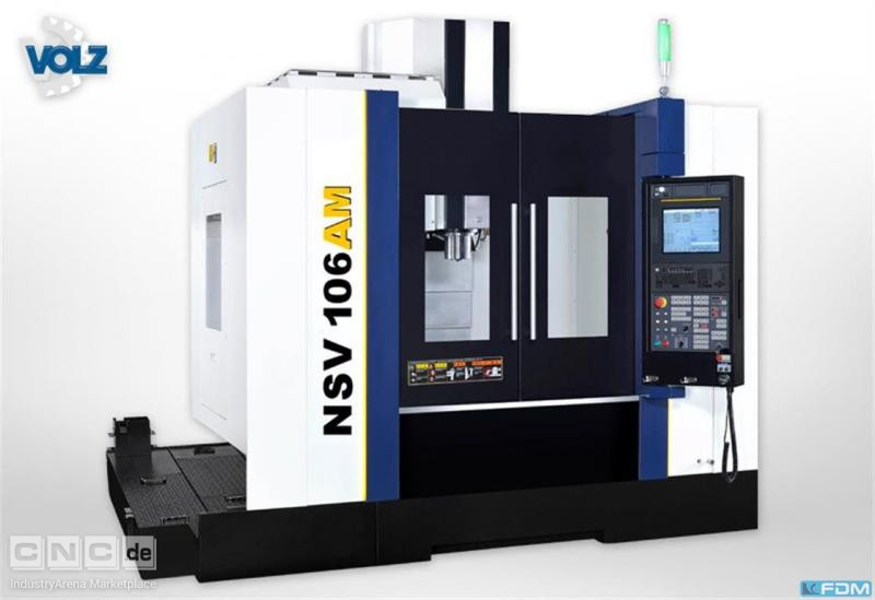 milling machining centers - vertical YCM NSV 106AM
