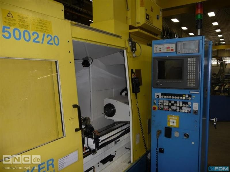Cylindrical Grinding Machine JUNKER Quickpoint 5002/20