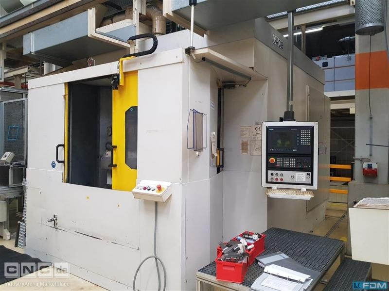 Machining Center - Horizontal GROB BZ 600