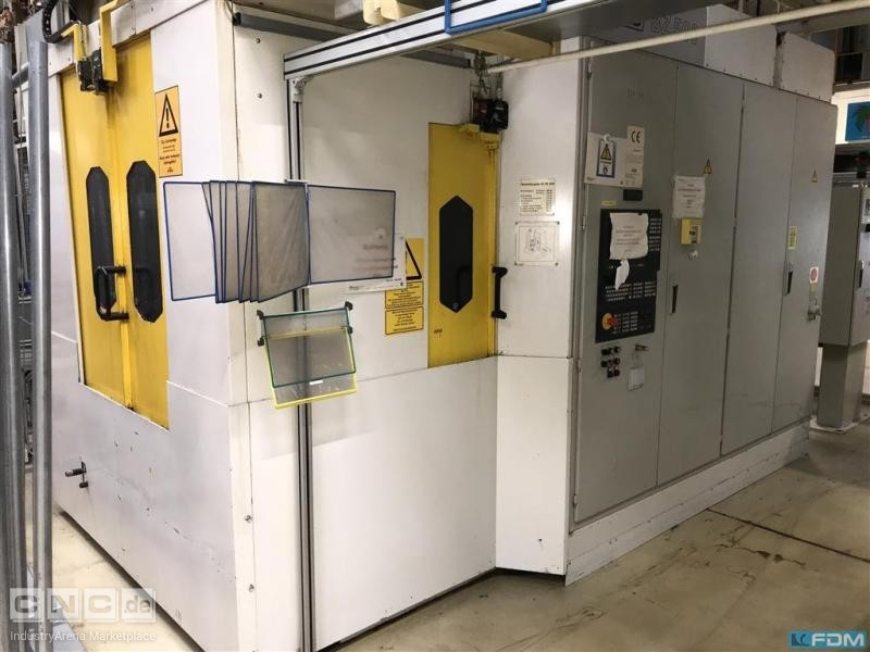 Machining Center - Horizontal GROB BZ 500