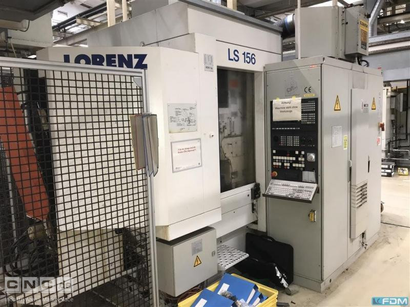 Gear Shaping Machine LORENZ LS 156 CNC