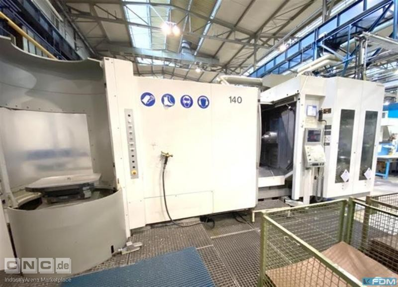 Machining Center - Horizontal DECKEL-MAHO DMG DMC 80 H linear