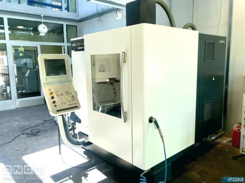 Machining Center - Vertical DECKEL DMC 635 V eco