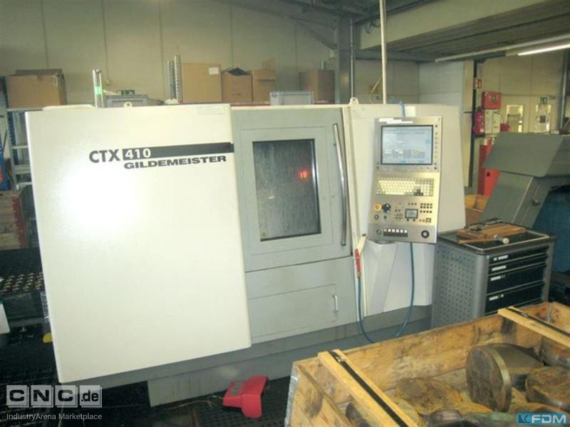 CNC Lathe - Inclined Bed Type GILDEMEISTER CTX 410 V3