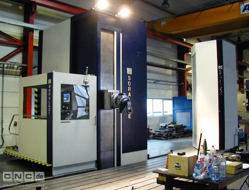 SORALUCE FS 8000 traveling milling machine