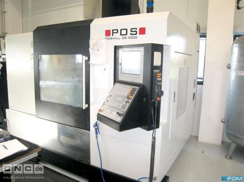Machining Center - Vertical POS POSmill CE 1000
