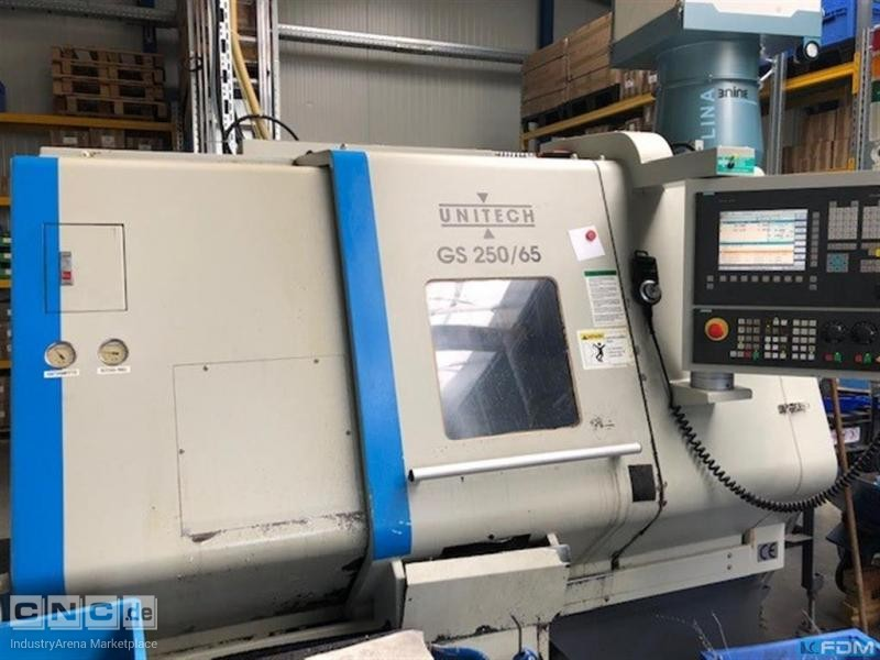 CNC Lathe - Inclined Bed Type UNITECH GS 250/65