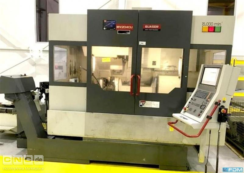 Machining Center - Universal QUASER MV 204 CU