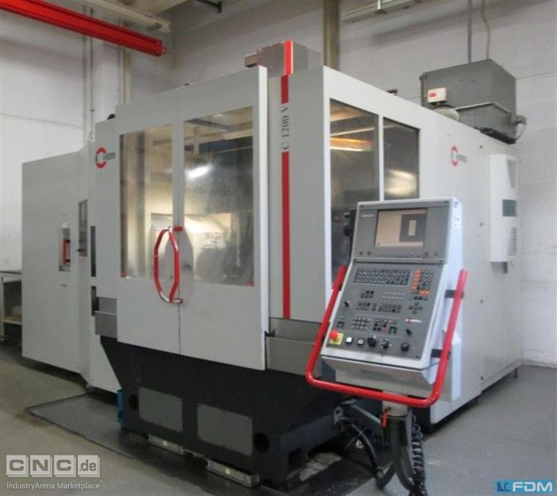 Machining Center - Vertical HERMLE C 1200V