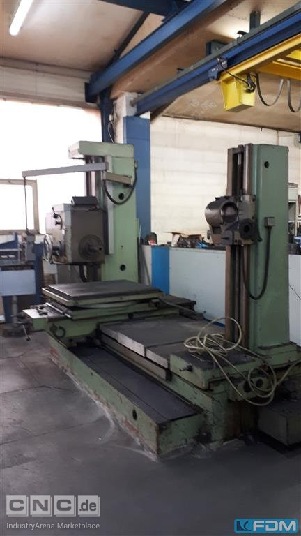 Table Type Boring and Milling Machine TOS W9A