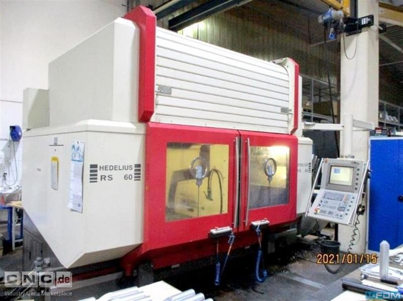 Machining Center - Universal HEDELIUS RS 60 K-2000
