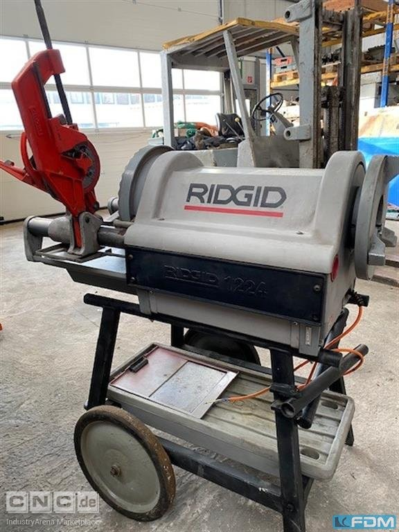 Thread-Cutting Machine RIDGID 1224