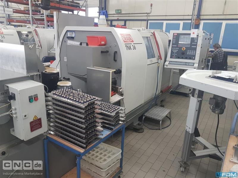CNC Turning- and Milling Center TRAUB TNK 36