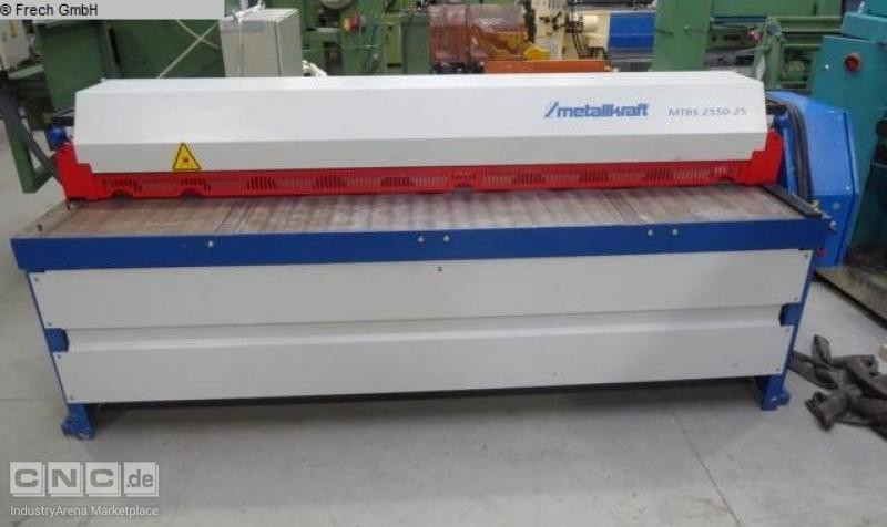 METALLKRAFT  Durma MTBS 2550-25